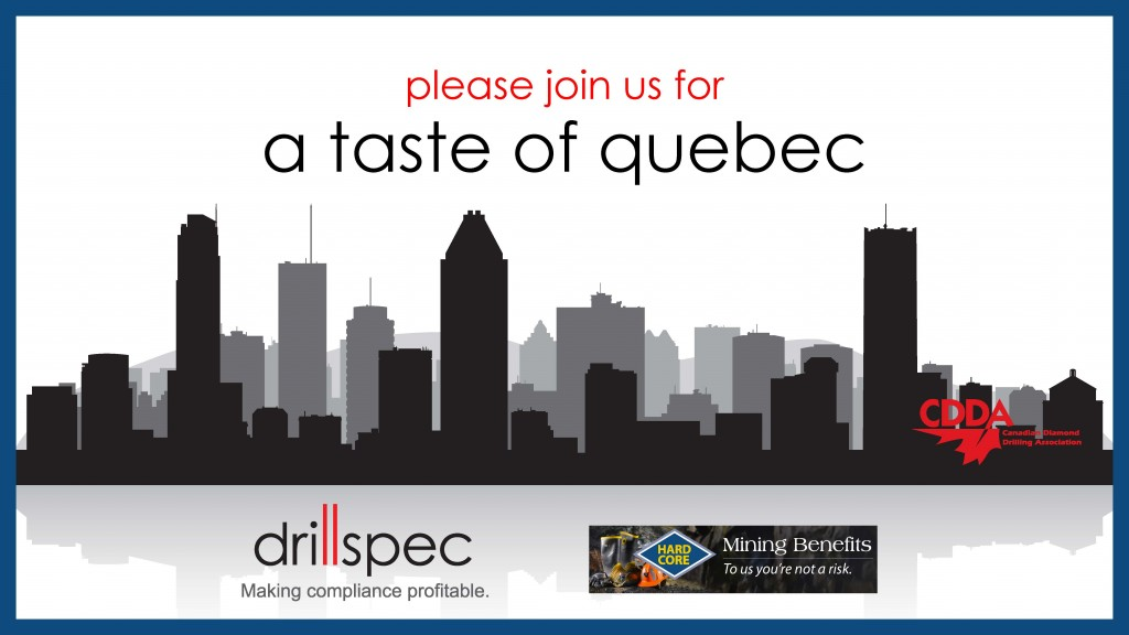 A Taste of Quebec - Drillspec and Hardcore Benefits